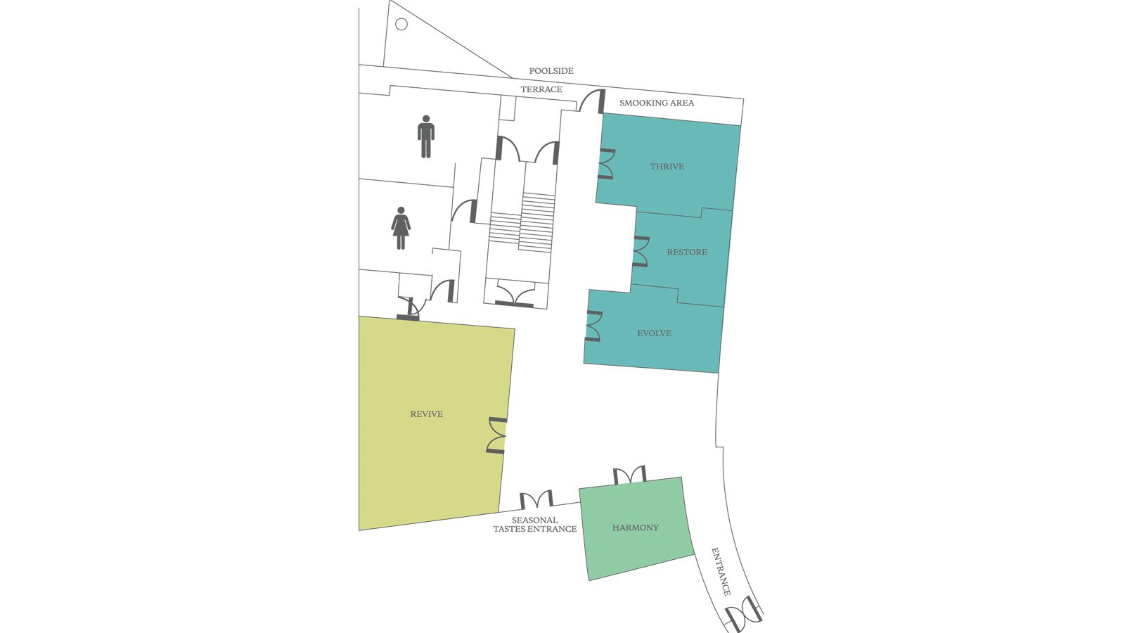 Floor Plan- Executive Meeting Rooms